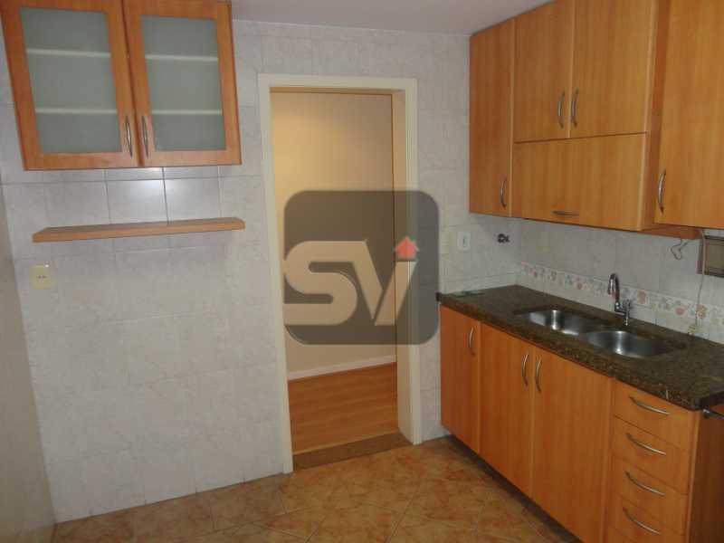 Cozinha - Apartamento 3 quartos para alugar Rio de Janeiro,RJ - R$ 2.900 - SVAP30029 - 19