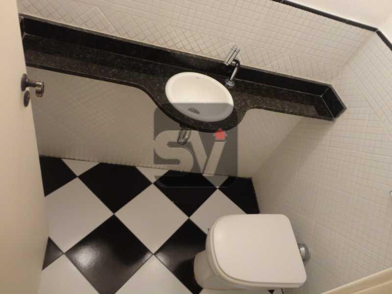 Lavabo - Apartamento 3 quartos para alugar Rio de Janeiro,RJ - R$ 2.900 - SVAP30029 - 6