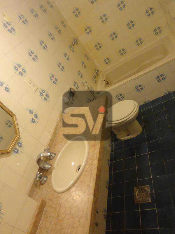 Banheiro social - Apartamento 3 quartos para alugar Rio de Janeiro,RJ - R$ 2.900 - SVAP30029 - 8