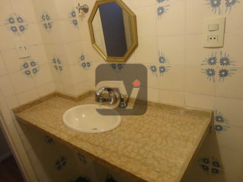 Banheiro social - Apartamento 3 quartos para alugar Rio de Janeiro,RJ - R$ 2.900 - SVAP30029 - 9