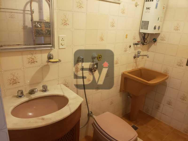 Banheiro - Fundos. Vista Livre. Flamengo. Conjugado 2 ambientes - SVKI00021 - 9
