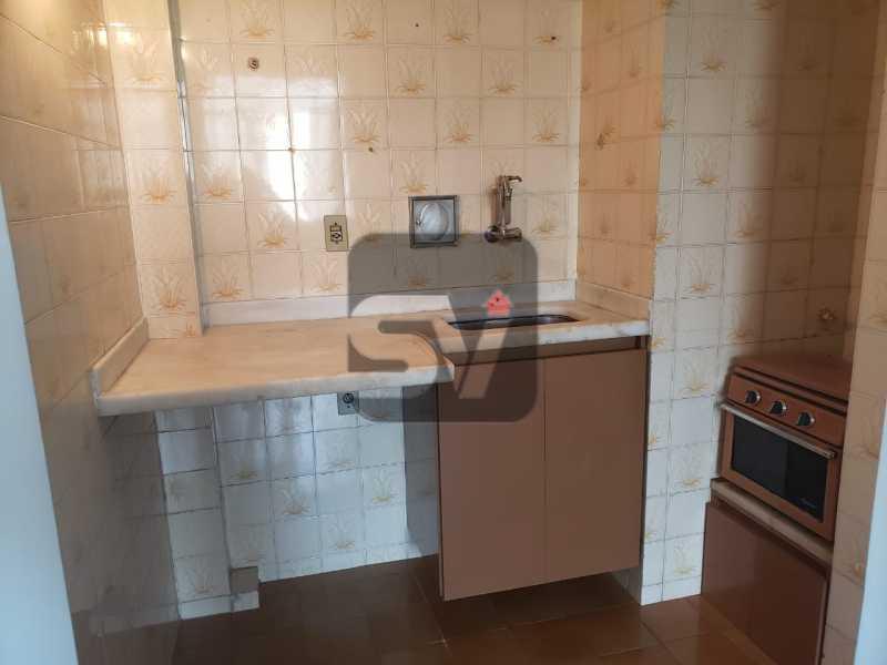Cozinha - Fundos. Vista Livre. Flamengo. Conjugado 2 ambientes - SVKI00021 - 8