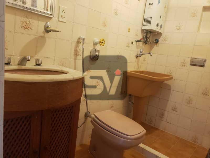 Banheiro - Fundos. Vista Livre. Flamengo. Conjugado 2 ambientes - SVKI00021 - 10