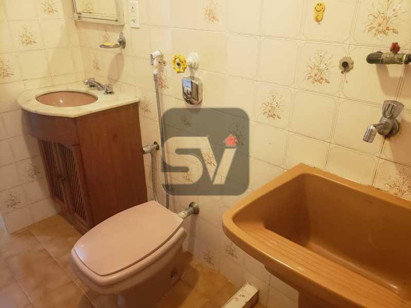 Banheiro - Fundos. Vista Livre. Flamengo. Conjugado 2 ambientes - SVKI00021 - 11