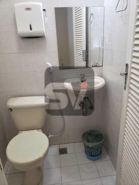 Banheiro - Sala Comercial com banheiro. Centro. Excelente localização. - SVSL00007 - 5