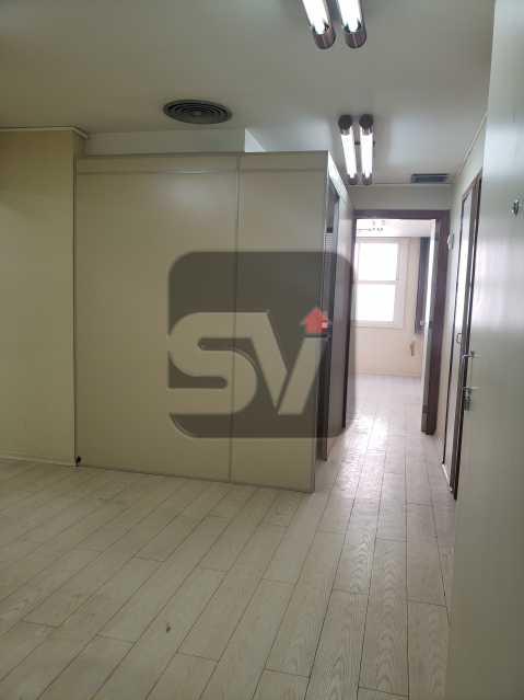 Recepção - Centro. 4 salas. Recepção. Ar central. Copa e banheiro - SVSL00009 - 1