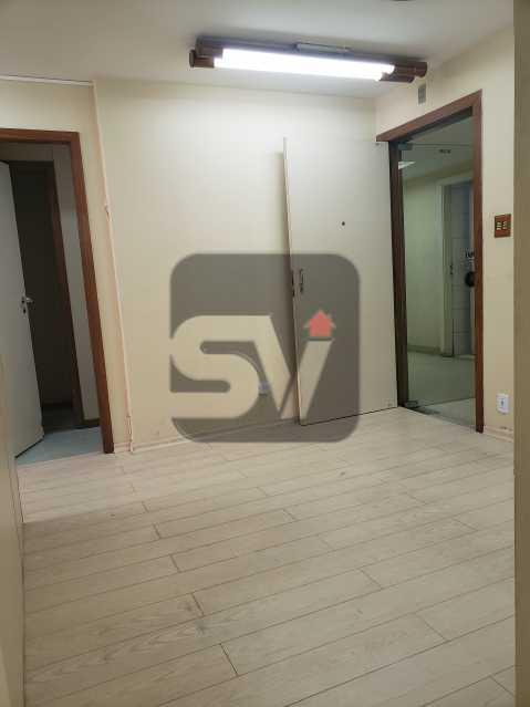 Recepção - Centro. 4 salas. Recepção. Ar central. Copa e banheiro - SVSL00009 - 3