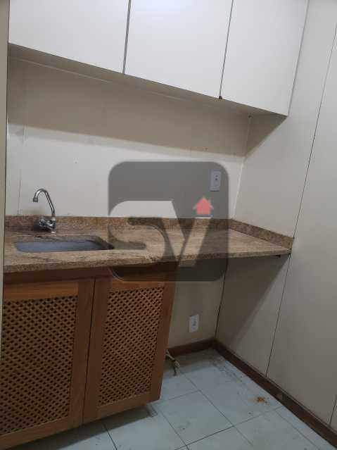 Copa - Centro. 4 salas. Recepção. Ar central. Copa e banheiro - SVSL00009 - 14
