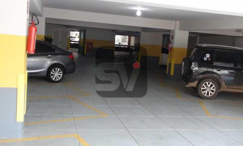 Garagem - Laranjeiras, 3 Quartos, 2 Vagas, Silencioso - SVAP30035 - 16
