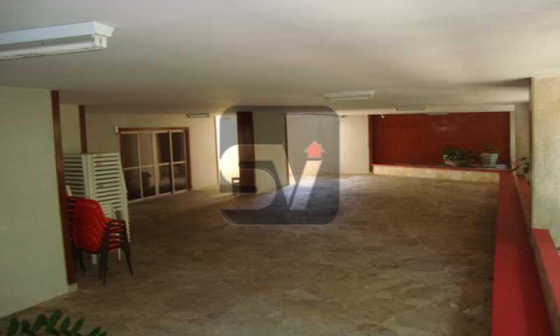 Salão de Festas - Laranjeiras, 3 Quartos, 2 Vagas, Silencioso - SVAP30035 - 18