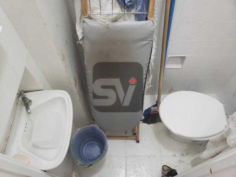 Banheiro de serviço - 3QUARTOS.(1 suíte com closet) . Vaga. - SVAP30037 - 18