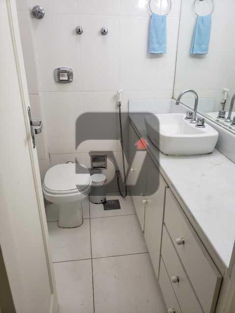 Banheiro social 1 - Vaga. Catete. 3 quartos. - SVAP30040 - 8