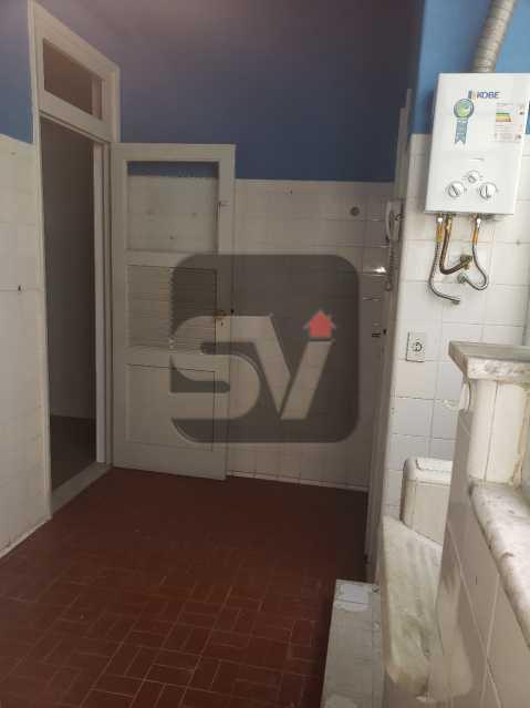 Área de serviço - Copacabana. 3 Quartos. Andar Alto - SVAP30043 - 13