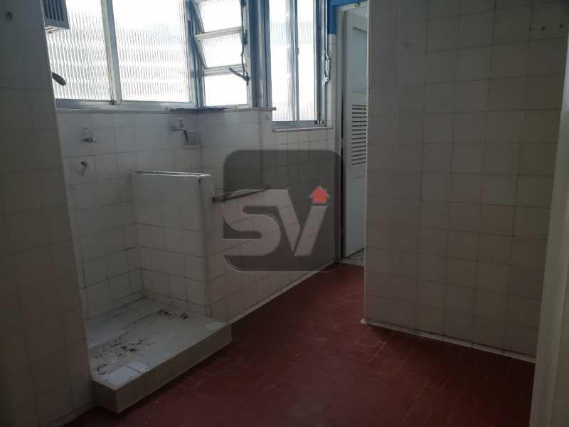 Área de serviço - Copacabana. 3 Quartos. Andar Alto - SVAP30043 - 14