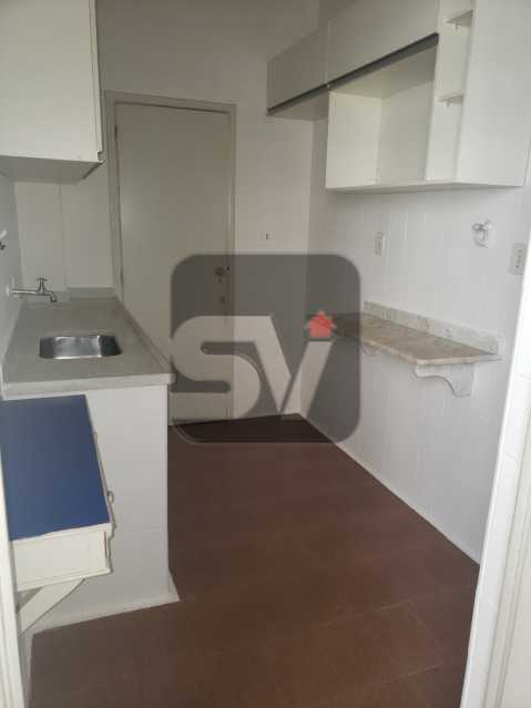 Cozinha - Copacabana. 3 Quartos. Andar Alto - SVAP30043 - 12