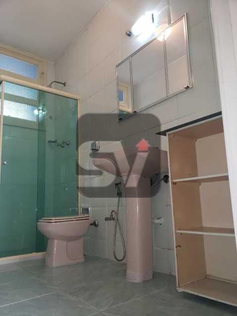 Banheiro - Copacabana. 3 Quartos. Andar Alto - SVAP30043 - 4