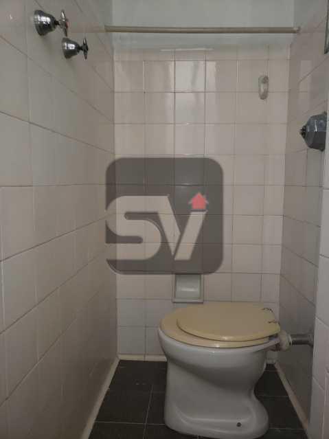 Banheiro de serviço - Copacabana. 3 Quartos. Andar Alto - SVAP30043 - 16