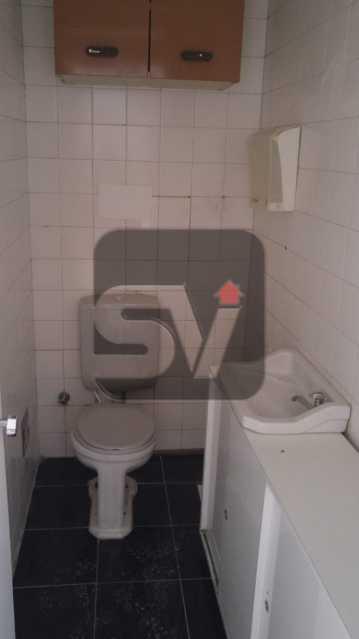 Banheiro  - Andar Alto. Centro. Sala Comercial. - SVSL00011 - 4