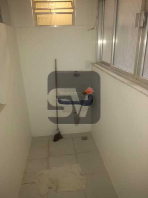 Área de serviço - 2 quartos com dependência revertida para 3º quarto (suíte). Humaitá. Vista Livre.Vaga - SVAP20061 - 11