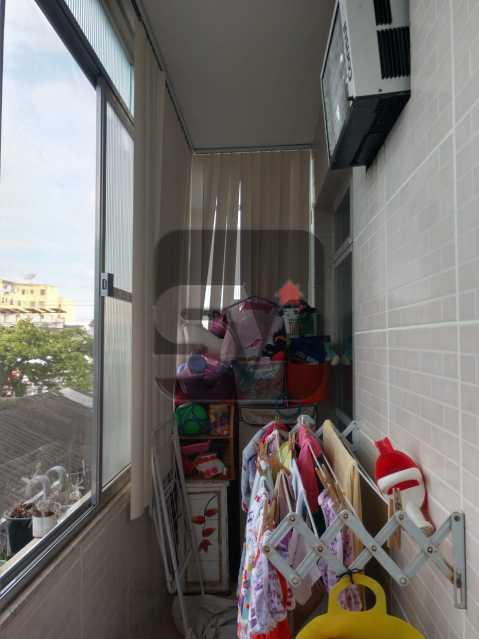 Área de serviço - São Cristóvão. 2 quartos. Vista Livre. - SVAP20062 - 10