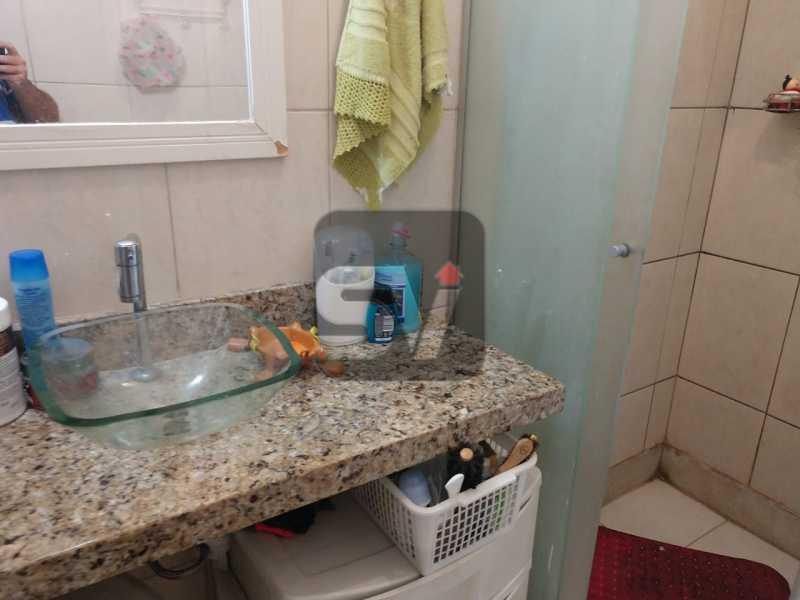 Banheiro social - São Cristóvão. 2 quartos. Vista Livre. - SVAP20062 - 7