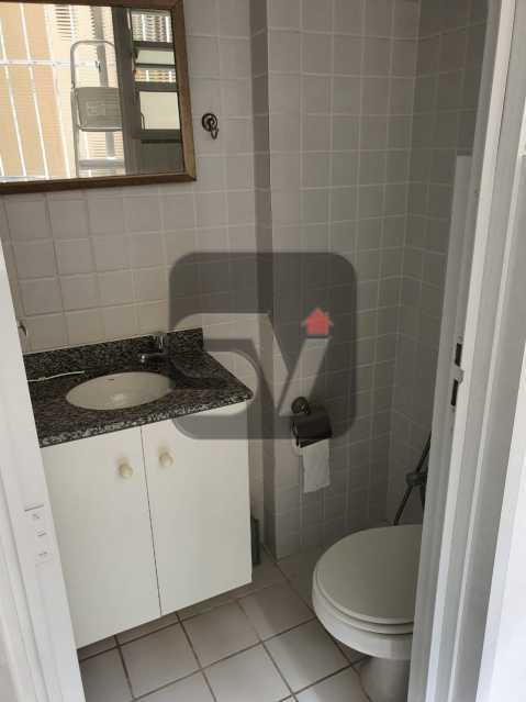 Banheiro de serviço - Vaga. Laranjeiras. 2 Quartos. - SVAP20063 - 13