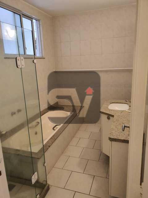 Banheiro social - Vaga. Laranjeiras. 2 Quartos. - SVAP20063 - 4