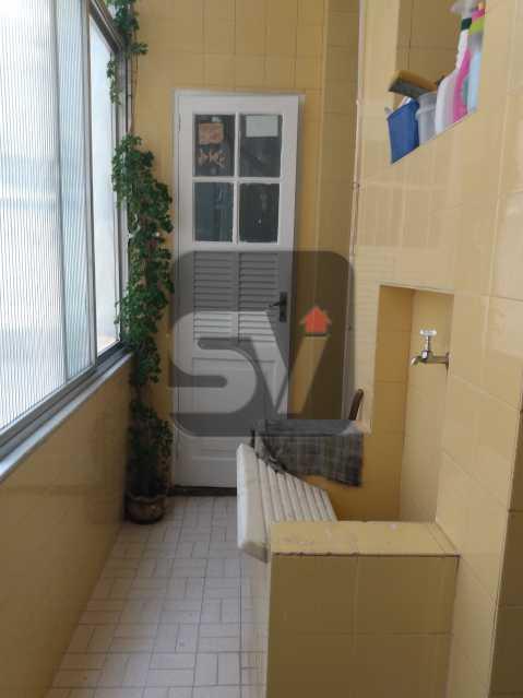 Área de serviço - Apartamento 3 quartos, em ótima localização - SVAP30045 - 17