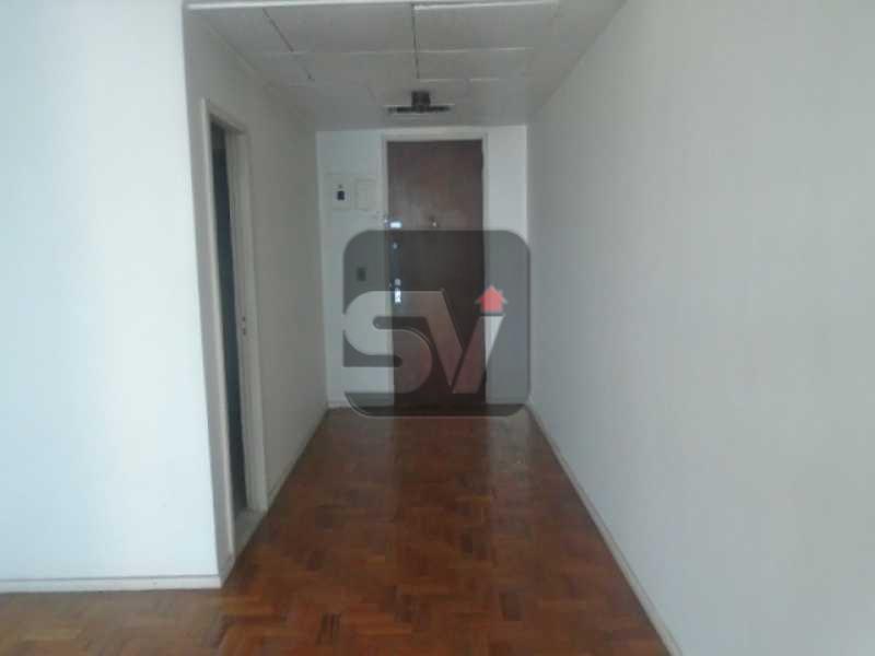 DSC02052 - Imperdível. Centro. Sala comercial com vista panoramica. Próximo ao metrô Carioca. Andar Alto - VISL00004 - 4