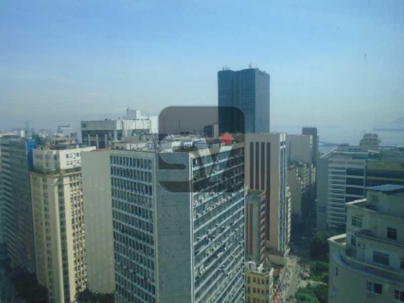 DSC02053 - Imperdível. Centro. Sala comercial com vista panoramica. Próximo ao metrô Carioca. Andar Alto - VISL00004 - 1