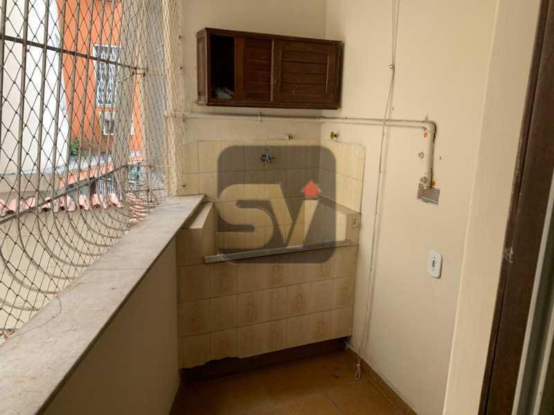 Área - Ótimo apartamento, de 3 quartos em Botafogo. - SVAP30047 - 14