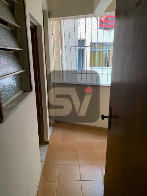 Visão para área - Ótimo apartamento, de 3 quartos em Botafogo. - SVAP30047 - 13