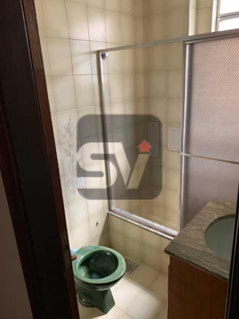 Banheiro - Ótimo apartamento, de 3 quartos em Botafogo. - SVAP30047 - 8