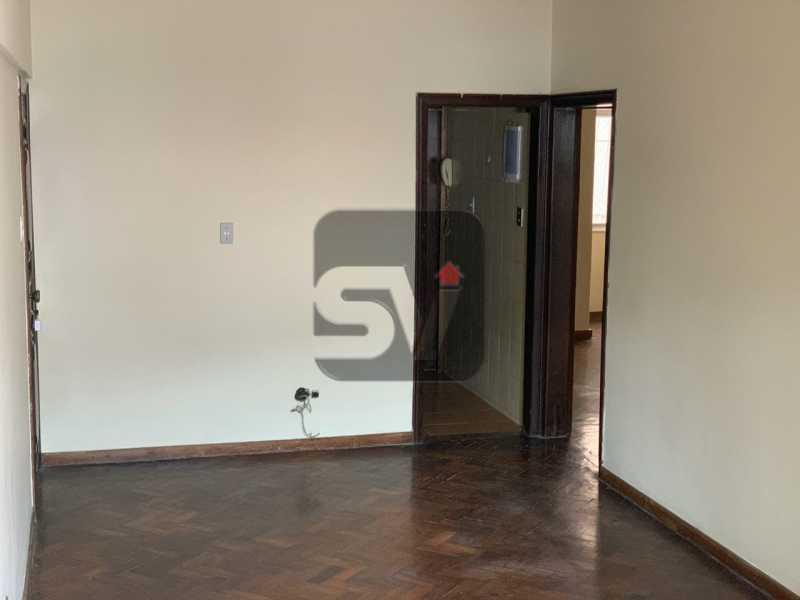 Sala - Ótimo apartamento, de 3 quartos em Botafogo. - SVAP30047 - 4