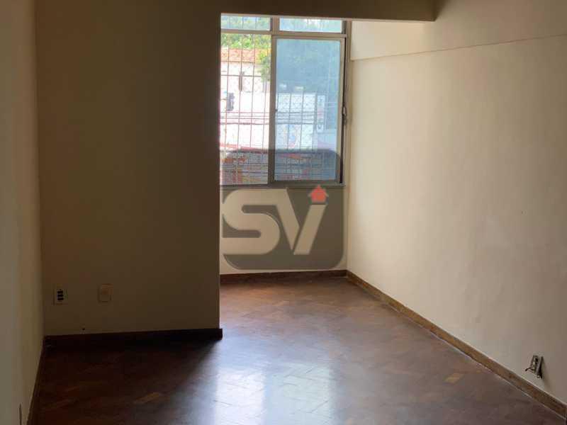 Sala - Ótimo apartamento, de 3 quartos em Botafogo. - SVAP30047 - 3