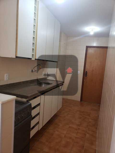 Cozinha - Silencioso. 2 Quartos. Vaga. Botafogo. Varanda - SVAP20072 - 13