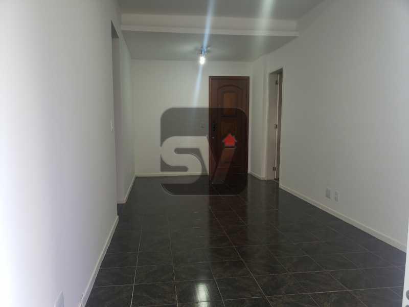Sala - Silencioso. 2 Quartos. Vaga. Botafogo. Varanda - SVAP20072 - 1