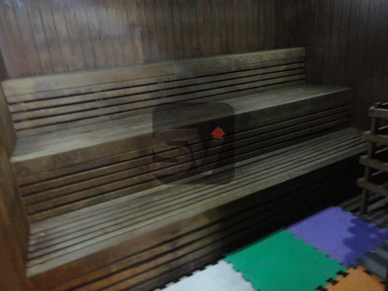 Sauna - Silencioso. 2 Quartos. Vaga. Botafogo. Varanda - SVAP20072 - 25