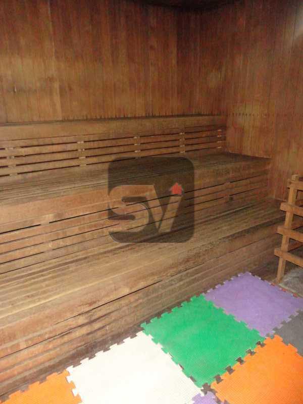Sauna - Silencioso. 2 Quartos. Vaga. Botafogo. Varanda - SVAP20072 - 26