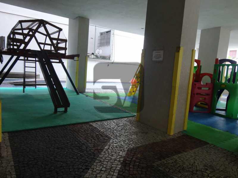 Play - Silencioso. 2 Quartos. Vaga. Botafogo. Varanda - SVAP20072 - 28