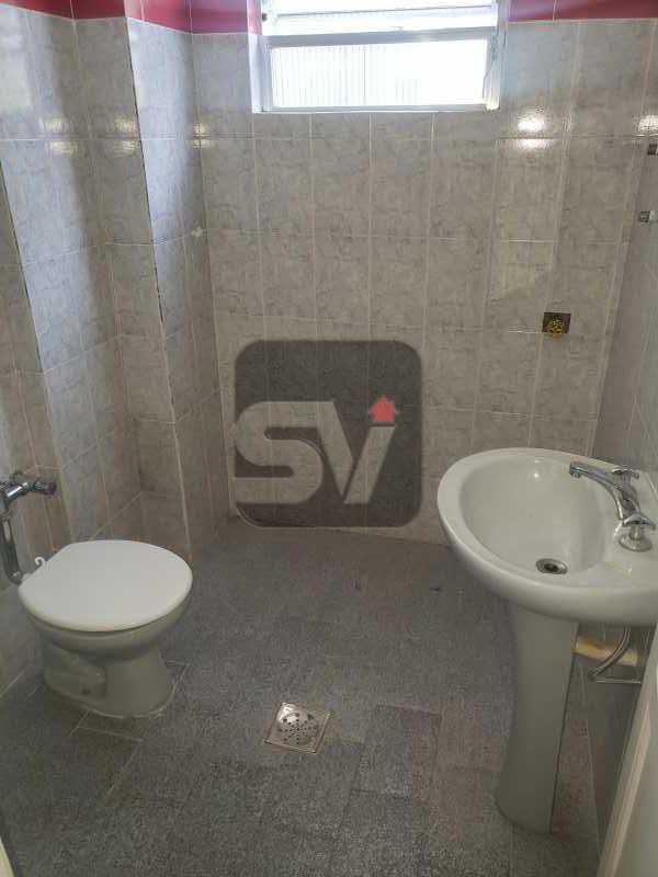Banheiro social  - 2 Quartos. Flamengo. Silencioso. - SVAP20074 - 4