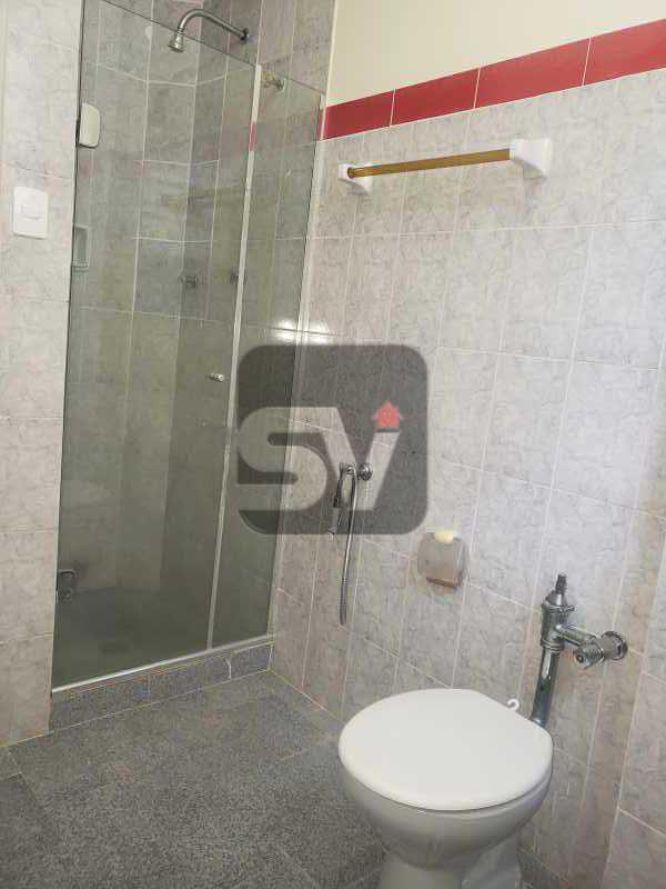 Banheiro social  - 2 Quartos. Flamengo. Silencioso. - SVAP20074 - 5