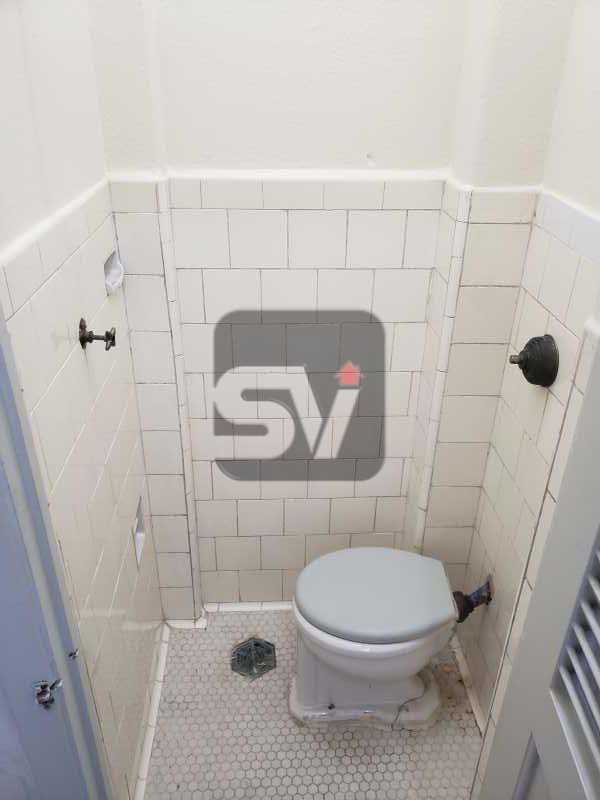 Banheiro de serviço - 2 Quartos. Flamengo. Silencioso. - SVAP20074 - 15