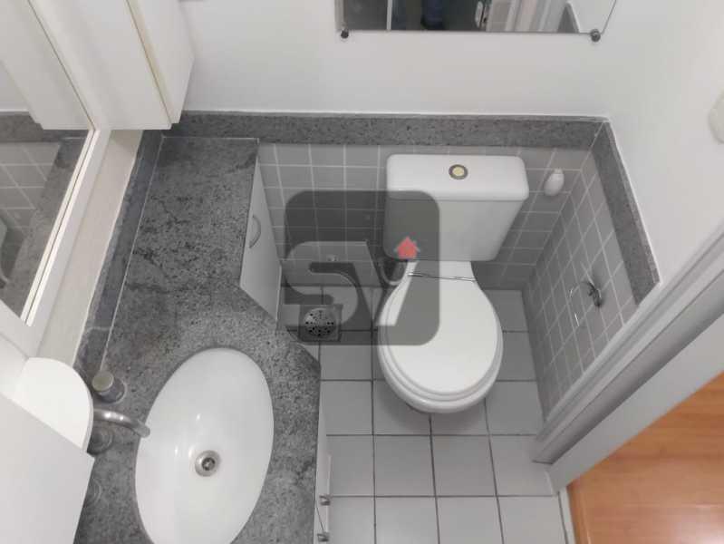Banheiro Suíte - Apartamento MARAVILHOSO, Pronto para morar, ótima localização e com INFRA - SVAP20076 - 12