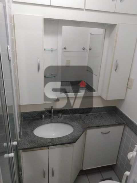 Banheiro Suíte - Apartamento MARAVILHOSO, Pronto para morar, ótima localização e com INFRA - SVAP20076 - 13