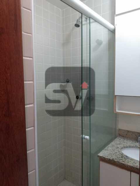 Banheiro Social - Apartamento MARAVILHOSO, Pronto para morar, ótima localização e com INFRA - SVAP20076 - 8