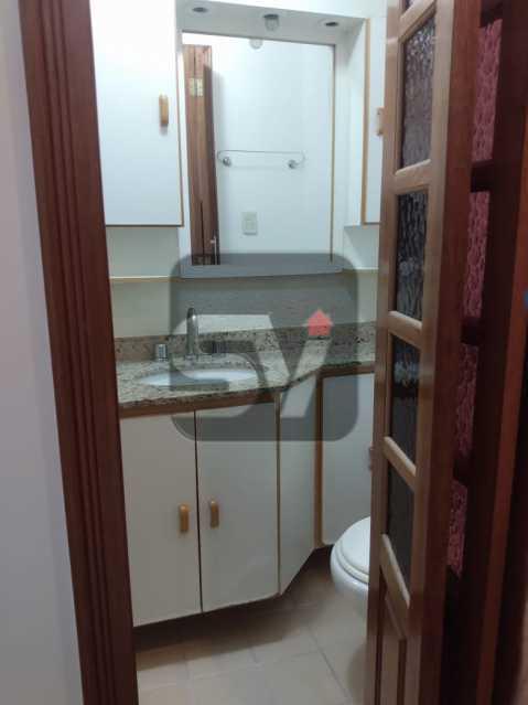 Banheiro Social  - Apartamento MARAVILHOSO, Pronto para morar, ótima localização e com INFRA - SVAP20076 - 6