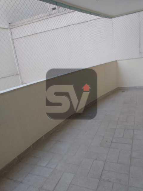 Varanda - Apartamento MARAVILHOSO, Pronto para morar, ótima localização e com INFRA - SVAP20076 - 16