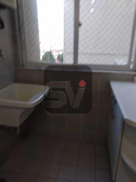 Área  - Apartamento MARAVILHOSO, Pronto para morar, ótima localização e com INFRA - SVAP20076 - 5