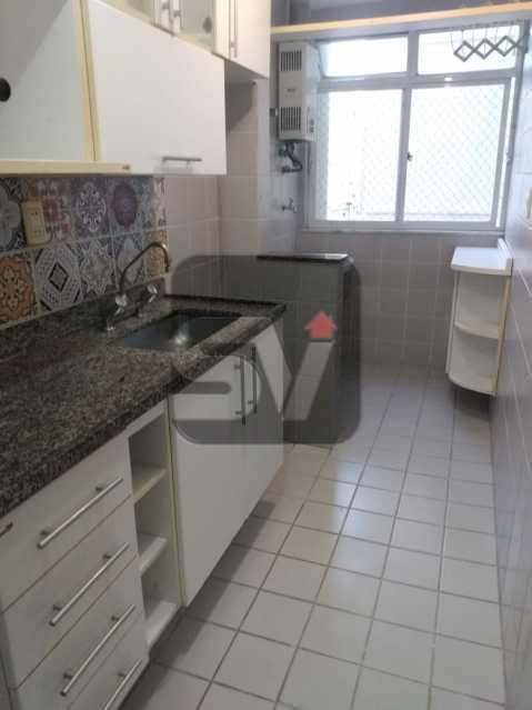 Cozinha - Apartamento MARAVILHOSO, Pronto para morar, ótima localização e com INFRA - SVAP20076 - 3